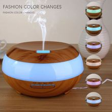2017 NEW ARRIVAL Air Wood Grain Aroma Diffuser Essential Oil Ultrasonic Humidifier