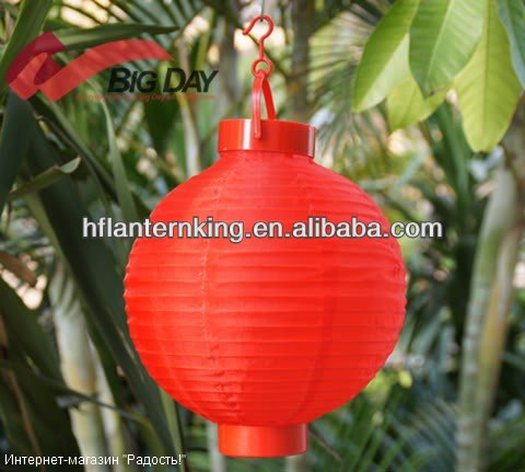 Chinese fabric battery lantern
