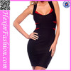 Black Beautiful Mature Women Bandage Dress