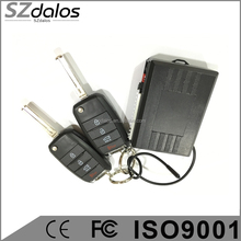 High Qualitiy 12V Car Auto Passive Remote Central Lock Kit Locking Keyless Entry System Two Remote Controller Security