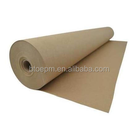 Paperboard builder sheet/board for temporary flooring protection
