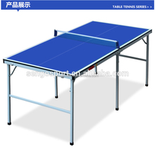 Used cheap indoor easy folding leg ping pong table tennis table for sale