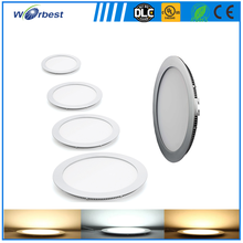Ultra thin 9mm 6w 9w 15w 18w surface led round panel light for home and commercial lighting