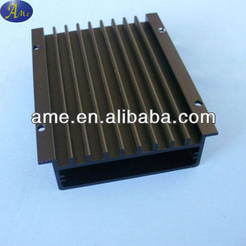 extrusion aluminum solar charge controller enclosure heat sink
