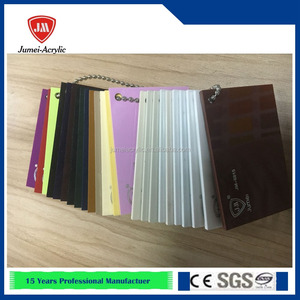 factory direct sale good price transparent/color acrylic mdf board