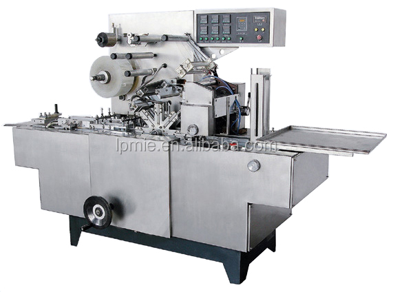 HT-2000A Cigarettes Perfume Box Cellophane Wrapping Machine