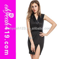2014 Paypal accept in stock wholesale cheap office lady arabic sexy night club shiny dress