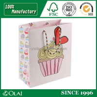 Cute Ice Cream Paper Gift Bag
