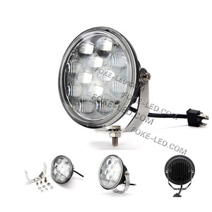 36W 5.7 inch round led car lights IP68 led work light led truck light
