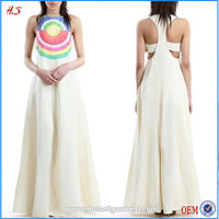 Wholesale Embroidered Maxi Casual Dresses Linen Or Cotton Women Sexy Girls Without Any Dress White Dresses For Women