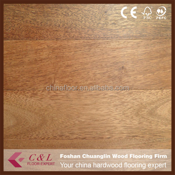 Foshan manufacturer natural low price parkett merbau