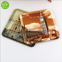 Eco Friendly cardboard paper beer coaster ,London design cheap beer coaster
