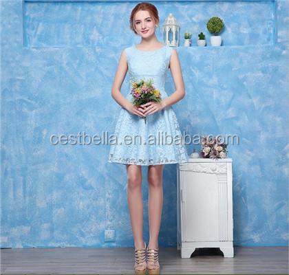Cheap Chic Bridesmaid Dress Party Dress 7 Colors Casual Dress Guangzhou China