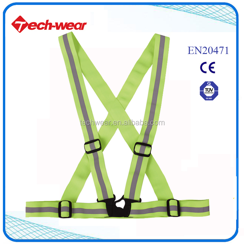 Cheap High Visibility Reflective Safety Band Belt
