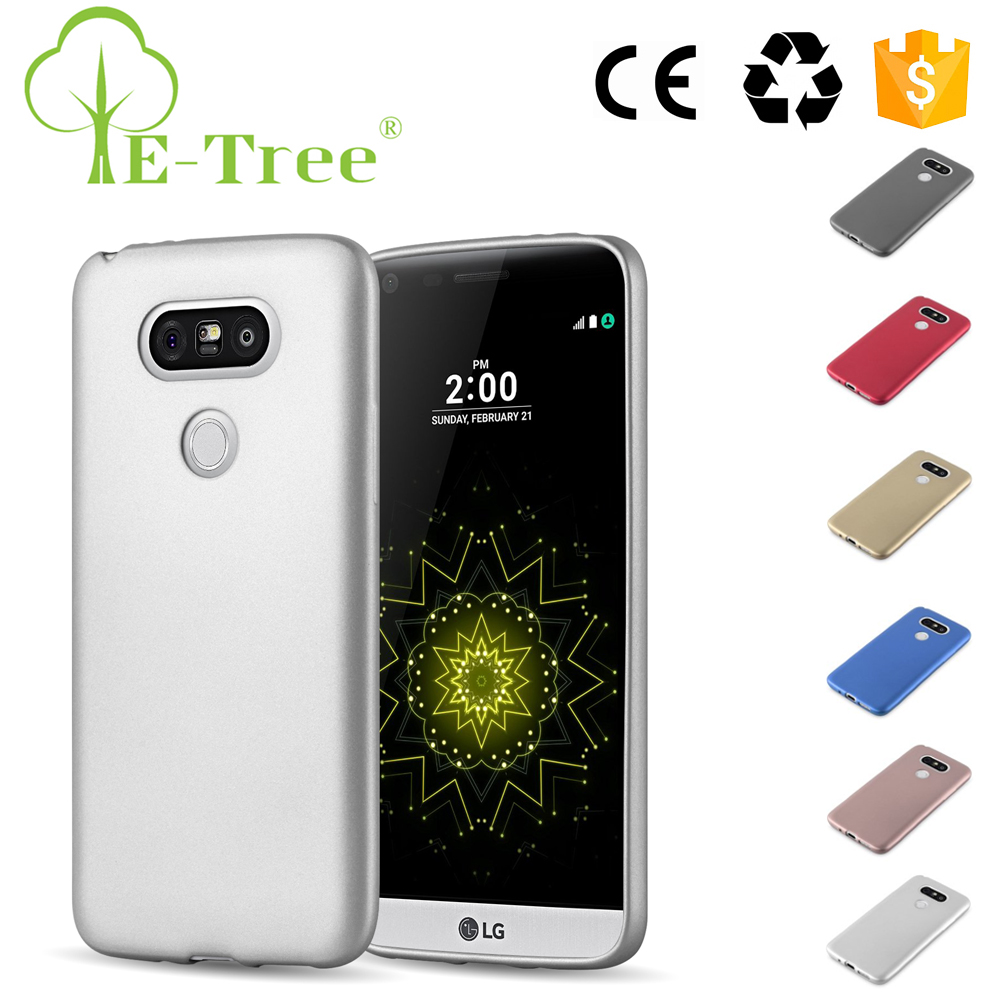 2017 Popular Luxury Silver Protector TPU Cell Phone Back Cover Case For LG G5 Wholesale