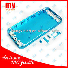 Color Glass Housing Back Cover Assembly For Iphone 5 CDMA Verzion with fast delivery