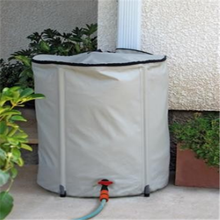 customized garden barrel size collapsible plastic water bucket flexible pvc water butt