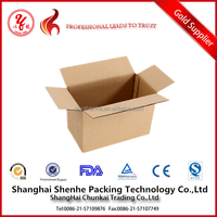 single face corrugating paper carton