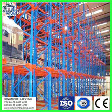 Warehouse steel rack drive in pallet racking system heavy duty industrial storage equipment