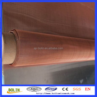 conductive copper woven wire copper mesh for battery(10 years profesional factory)