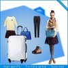 Hot Sale ABS Luggage PC luggage upright suitcase abs+pc case bag