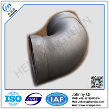 Custom Made DI Pipe Fittings Zinc Painting with Bituminous Painting Socket Spigot 90 Degree Bend with High Quality