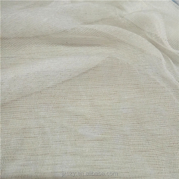 White color silk tulle fabric in 100% silk for Bridal Veils