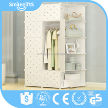 DIY Cupboard Folding Plastic Storage Wardrobe for Sale