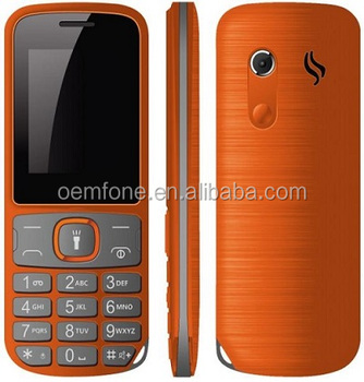 Dual SIM Card 32MB+64MB Torch Flashlight GPRS Unlocked Mobile Phone