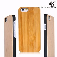 3D printing machine Natural wood cell phone case cover for iphone 6