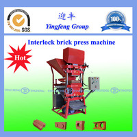 Reliable performance concrete interlocking block machine ECO2700