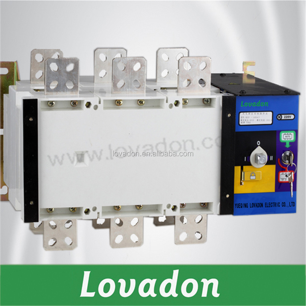 Automatic Transfer Switch ATS 1000A Generator ATS Panels