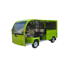 Chinese electric resort car /sightseeing bus/tourist electric car with door used scenic arear