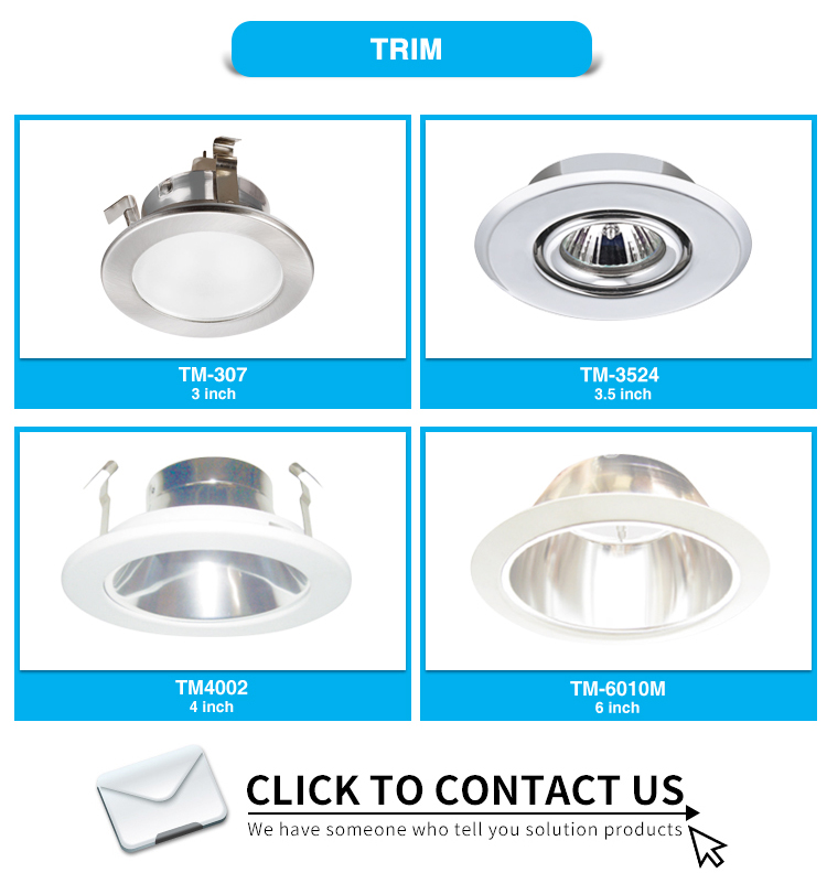 Round Fixture Downlight Retrofit Kit