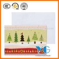 Christms Folk Art Holiday Trees Boxed Cards Greeting Cards & paper boxes