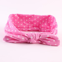 Stretch Knitted Cotton Top Baby Headband A648