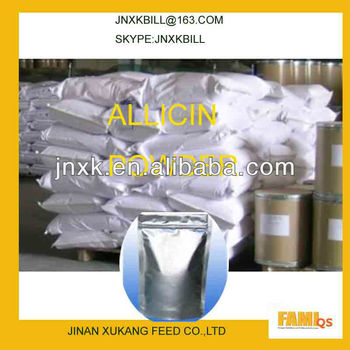 Garlic powder premix used for poultry growth