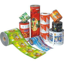 HOT SALE Factory Supply Biscuits Aluminium Laminating Automatic Plastic Packing Roll Up Film