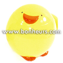 New Novelty Toy Fancy Cute Animal Shape Round Yellow Duck Cup