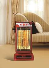1200W electric Carbon infrared heater with 2 Carbon tubes metal Material