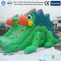 Giant Commercial Inflatable Slide Chameleon Inflatable Playground