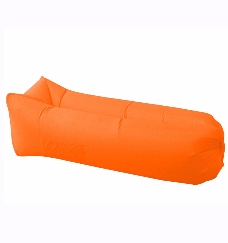 2017 Trending Producrs Waterproof Beach Inflatable Sofa, Filling air Lounge Portable Lazy Bag