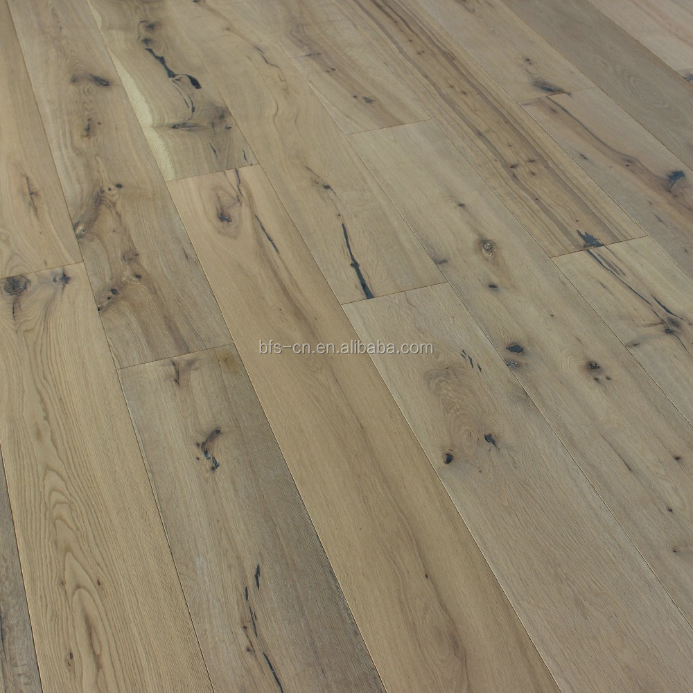 carb2 certifition <strong>oak</strong> engineered wood flooring European country style UV lacquer <strong>oak</strong> 3 - ply engineered Wood Flooring