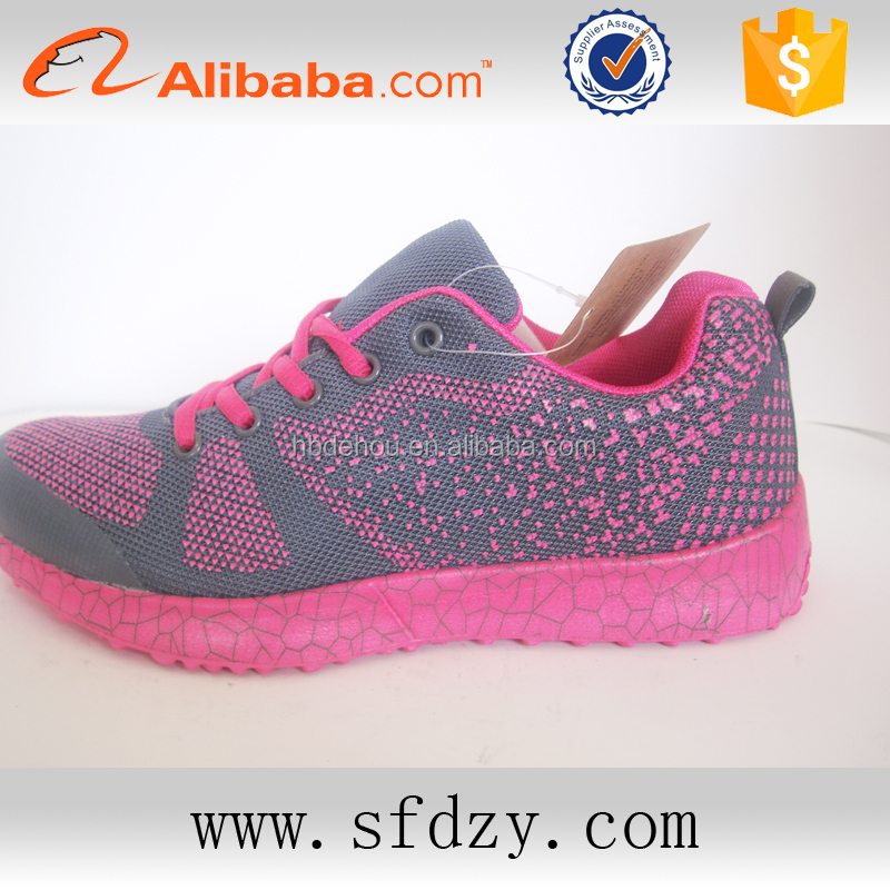 Top popular EVA insole sports shoe for women sneakers china factory