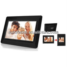 [Shenzhen manufacturer] Black color 7 inch digital picture frame