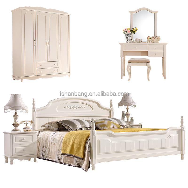 Promocional Blanco cama de Matrimonio 6 unidades Contemporánea De ...