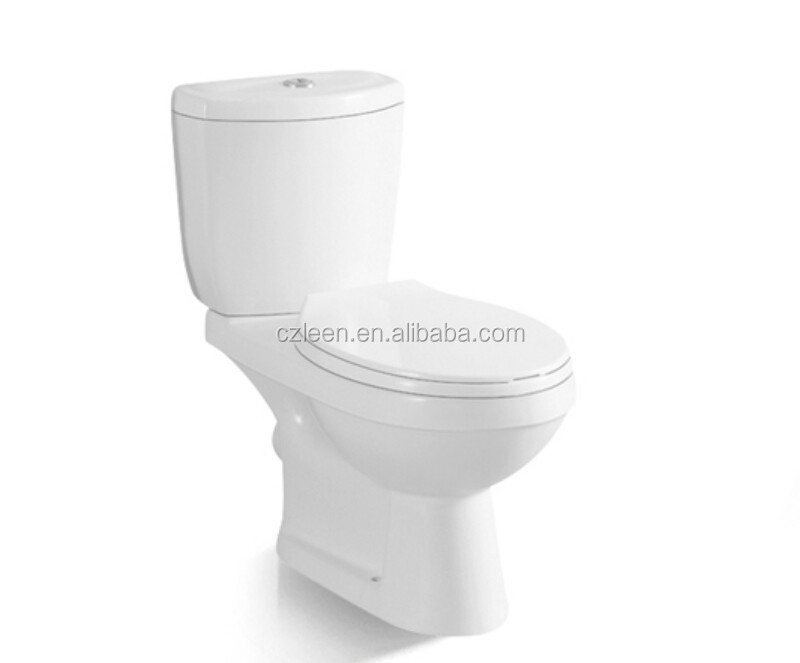 cheap price two piece toilet wc p trap two piece toilet