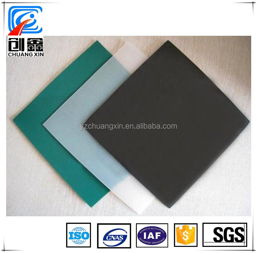 plastic waterproofing membrane for agriculture pond with ISO Certificate