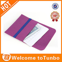 Tablet case for laptop alibaba china supplier wholesale small hand made felt bags