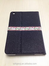 2015 coming newest design PU leather case for Ipad 2 cover case